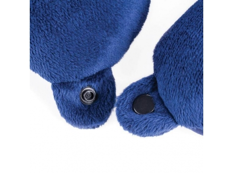 Подушка Spokey Adder II для путешествий Синяя