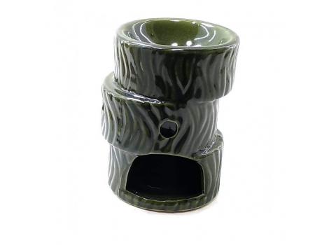 "Аромалампа Arjuna ""Зигзаг"" Зеленая 10,5х7,5х7,5 см (26356A)"