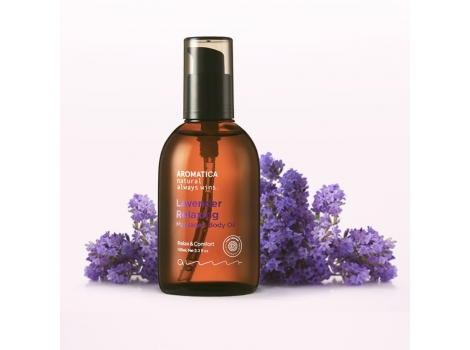 Массажное масло AROMATICA Lavender Relaxing Massage  Body Oil (EE00037)