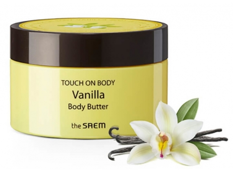 Масло для тела The Saem Touch On Body Vanilla Body Butter (EE00062)