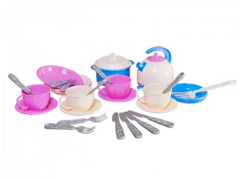 Набор посуды Маринка 11 ТехноК 24 шт (1653)