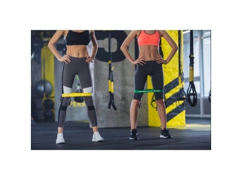 Резинка для фитнеса и спорта (лента-эспандер) 4FIZJO Mini Power Band 1 мм 10-15 кг 4FJ0012