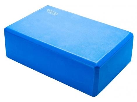 Блок для йоги 4FIZJO 4FJ1394 Blue (4FJ1394)