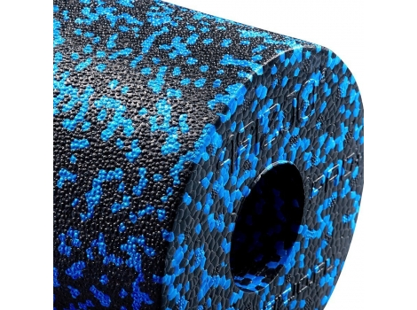 Массажный ролик гладкий 4FIZJO EPP PRO+ 33 x 14 см 4FJ1417 Black/Blue
