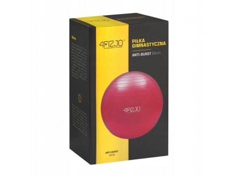 Мяч для фитнеса (фитбол) 4FIZJO 55 см Anti-Burst 4FJ0031 Red