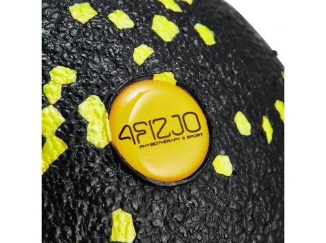 Массажный мяч 4FIZJO EPP Ball 08 4FJ0056 Black/Yellow