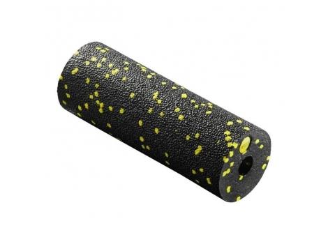 Массажный ролик 4FIZJO Mini Foam Roller 15 x 5.3 см 4FJ0081 Black/Yellow