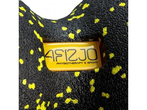 Массажный мяч двойной 4FIZJO EPP DuoBall 12 4FJ0082 Black/Yellow