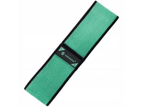 Резинка для фитнеса и спорта тканевая Springos Hip Band Size L FA0111