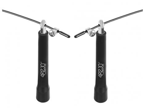 Скакалка скоростная для кросфита 4FIZJO Standard+ 4FJ0183 Black