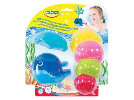 Игровой набор для ванны BeBeLino Кит (58114)