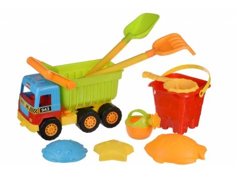 Набор для игры с песком Same Toy 9 ед. (943Ut)