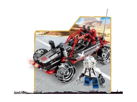 Конструктор JVToy Wonderful City Пустынный багги 310 элементов (24008)