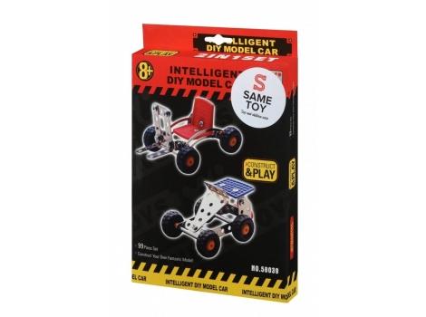 Конструктор металлический Same Toy Intelligent DIY Model Car 2 модели (58039Ut)