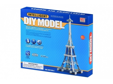 Конструктор металлический Same Toy Эйфелева башня 352 элемента (WC58CUt)