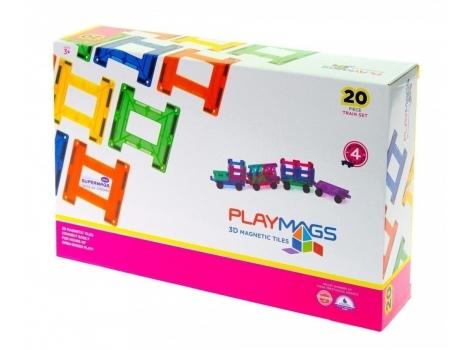 Конструктор Playmags магнитный набор 20 элементов (PM155)