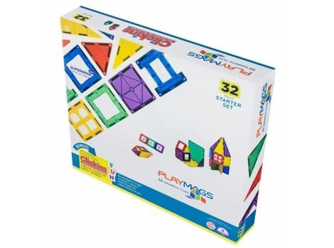 Конструктор Playmags магнитный набор 32 элемента (PM165)