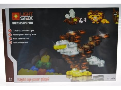 Конструктор Light stax с Led подсветкой Adventure (S12004)