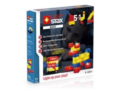 Конструктор Light stax с Led подсветкой Basic 5в1 Реакция на звук светом (LS-S12011)