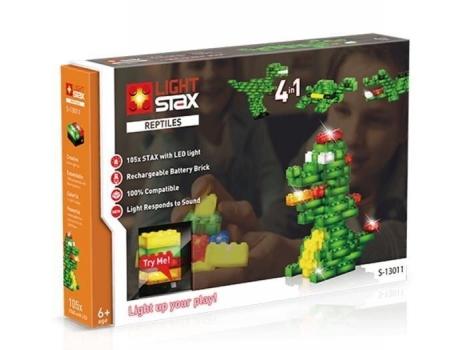 Конструктор Light Stax с Led подсветкой Reptile V2 4в1 (LS-S13011)