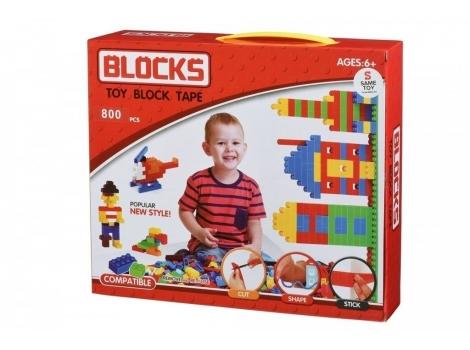 Конструктор Same Toy Block Tape 800 едениц (808Ut)