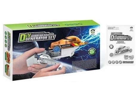 Робот конструктор Same Toy Авто на динамо машине (DIY006UT)