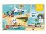 Конструктор JVToy Пляжный отдых серия Прекрасный город 669 эл (24012)