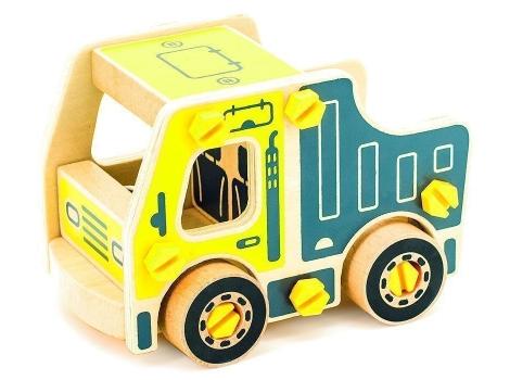 Деревянный конструктор Мир деревянных игрушек Самосвал (Д428)