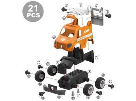 Конструктор Diy Spatial Creativity Служба доставки 21 деталь (6477796)