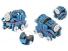 Конструктор электронный HIQ Stem B722 150 деталей сенсорный (LYH-B722)