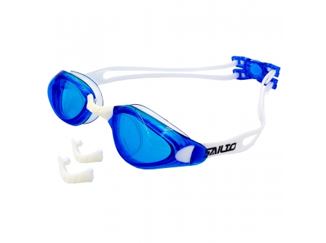 Очки для плавания SAILTO KH45-B Сине-белый